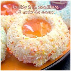 Sablés confiture et noix de coco photo 2