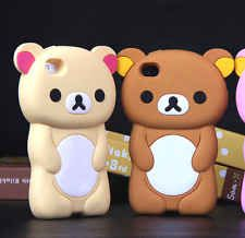 """3D Cute Lovely Cartoon Animal Bear Soft Skin For Iphone 6 4.7"""" Rubber Case Cover"""