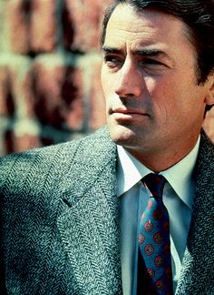"""Gregory Peck, an AMAZING actor. His turn as Atticus Finch in """"To Kill a Mockingbird"""" is one of my favorite performances of all time."""