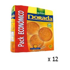 Biscuits Gullón Dorada Maria , 3x200 Grs - Lot 12