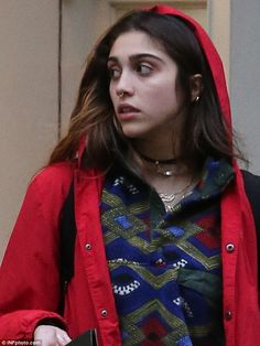 Papa don't preach: Madonna's daughter, 18-year-old Lourdes Leon showed off her new septum ...