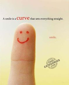 a smile is a curve...