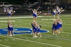 Bryant High School cheerleader cheer cheerleaders by jbparker, via Flickr,