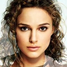 Mezcla de las caras de Natalie Portman y Keira Knightley
