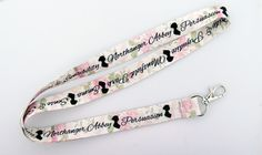 Jane Austen Lanyard with Book Names Fan art. Show everyone at work who's really…