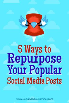 By repurposing popular posts and content on one platform for use on another, you can give your followers more of what they want.