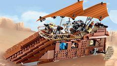 Star Wars 75020 Jabba's Sail Barge™ (Пустынный корабль Джаббы)