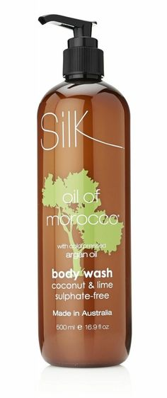 images of Coconut oil for body | Silk Oil of Morocco Coconut & Lime Body WashInfused with Cold Pressed ...
