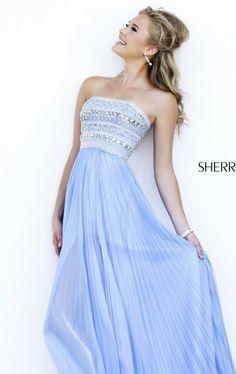 A Line Chiffon Sherri Hill 32182 Periwinkle Long Prom Dress Deb Dresses, Pretty Prom Dresses, Prom Dresses 2015, Prom Dresses For Sale, Designer Prom Dresses, Grad Dresses, Dance Dresses, Cheap Dresses, Cute Dresses