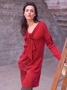 Bow Front Dress 08/2013 Burda .... vielleicht aus Seide für den Sommer?
