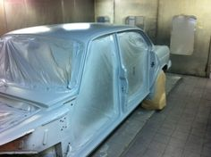 Finally, ready for the first coat of primer
