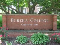 Eureka College, alma mater of Ronald Reagan.