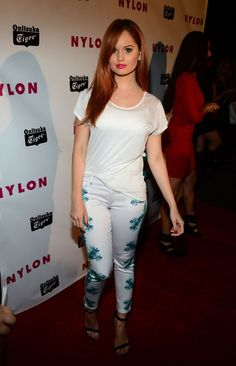Debby Ryan at NYLON Annual May Young Hollywood Issue Party at The Roosevelt Hotel in Hollywood on May 14, 2013