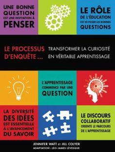 Le processus d'enquête: Transformer la curiosité en véritable apprentissage. (2015). by Jennifer Watt & Jill Colyer.
