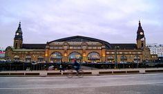 Central train station Hamburg