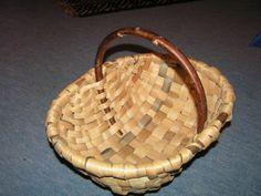 An oak swil basket...