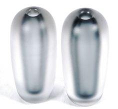 Pr Hadeland Glass Frost vases Johansson