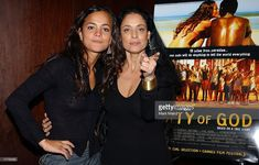 Actress Alice Braga (L) and Sonia Braga attend the screening of 'City of God' February 11, 2003 at the Bryant Park Hotel in New York City.