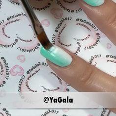 """""""Mi piace"""": 20.5 mila, commenti: 116 - Galina S. (@yagala) su Instagram: """"📽Floral nail art with gel polishes Presto No.4, 144, 89; Presto AM02; Presto Top Gel; Presto LED…"""""""