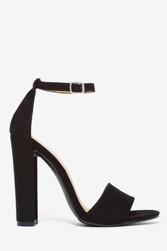 Perfect thick heel ankle strap ($68!)