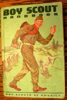 This is the hand book I had in Scouts