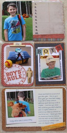 Project Life Journal Cards | Project LIfe journal cards
