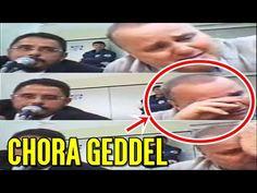 EXATO MOMENTO - Geddel Vieira Lima chora após Juiz Vallisney manter sua prisão preventiva