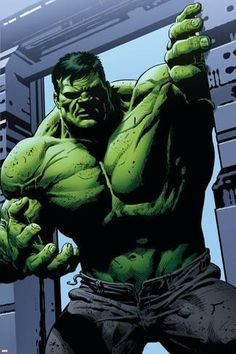 Art Print: Avengers Assemble Panel Featuring Hulk : 36x24in