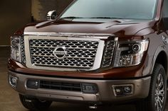 The All-New 2016 Nissan Titan, Truck, Pickup, Nissan.