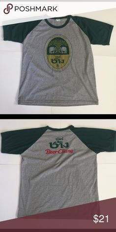 Vintage Thailand Chang Beer T-Shirt Vintage Thailand Chang Beer T-Shirt. Great Condition. Men's size XL Shirts Tees - Short Sleeve