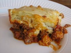 Pop Up Pizza Pie    1 pound ground beef  1 cup of chopped onion  1 cup chopped green pepper  2 cups spaghetti sauce (jar or homemade)  Popover Batter    1 cup milk  1 tablespoon of oil  2 eggs  1 cup flour  ½ teaspoon salt  2 cups shredded mozzarella cheese