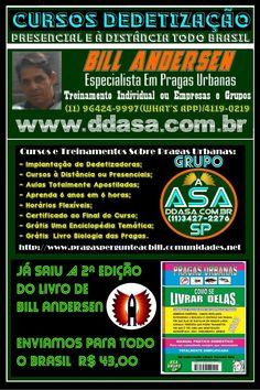 Cursos Dedetização 11 4119-0219/99366-5003-W.App