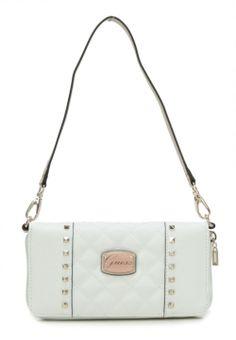 wardow.com - Tasche von Guess, Adoro Geldbörse Damen weiß 20 cm