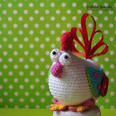 Crochet hen - crochet pattern by VendulkaM Easter Crochet Patterns, Amigurumi Patterns, Crochet Humor, Funny Crochet, Cute Dolls, Hens, Sweet Girls, Crochet Baby, Free Pattern