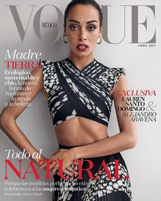 DIARY OF A CLOTHESHORSE: Adwoa Aboah covers Vogue Mexico April 2017