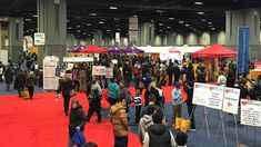 A rock climbing wall, former Washington Redskins players, a broccoli mascot, lots of dogs and more. Day One of the NBC4 Health and Fitness Expo was a success!