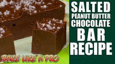Salted Peanut Butter Chocolate Bar Recipe