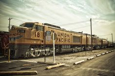 Union Pacific Gas Turbine Electric Locomotive at the Illinois Railway Museum in Union, Illinois.