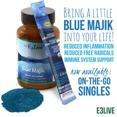 Add a little Blue Majik to your post-workout routine and enjoy the benefits…