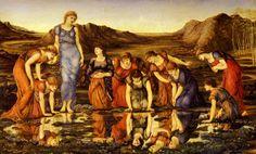 Edward Burne-Jones - PreRaphaelite Artist