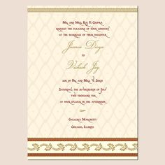 wedding invitation templates | indian wedding invitation template |Shaadi