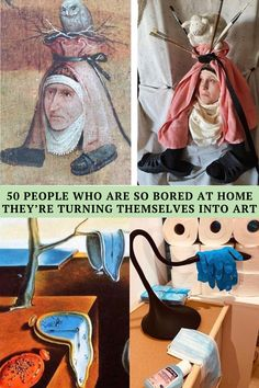 The coronavirus pandemic has forced a lot of people inside their homes. The Getty Museum in Los Angeles considered it an opportunity for people to sharpen their minds and challenge their creativity. As a result, they issued a challenge on Twitter asking people to recreate their favorite artworks and share them online.Tons of people responded and here are the best photos.