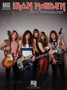 Iron Maiden Bass Anthology Tab, This book of note-for-note Steve Harris bass transcriptions is a must-have for any rock bassist. Rock & Pop, Rock And Roll, Great Bands, Cool Bands, Beatles, Iron Maiden Albums, Run To The Hills, Iron Maiden Band, Musical Hair