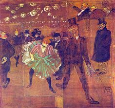 Henri de Toulouse-Lautrec - Au Moulin Rouge (1895) - Google Search