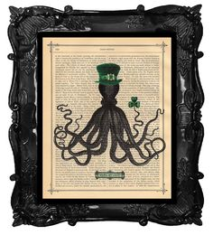 Irish Octopus?! for the steampunk in you