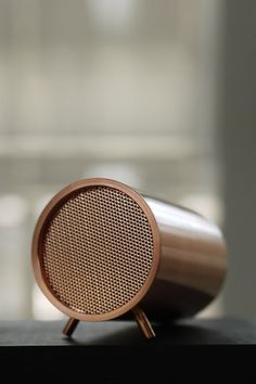 TubeAudio Series - Piet Hein Eek Bluetooth Speaker - Available in Copper, Brass or Steel - View All - Home Accessories