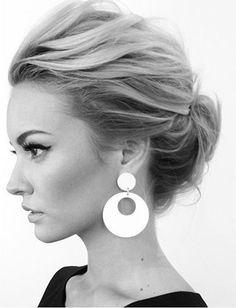 Medium Hairstyles Buns | #Hairstyles