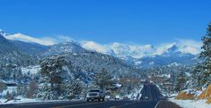 The Best Winter Scenic Drives in Estes Park, CO