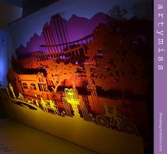 Artymiss @ Design Indaba Expo 2013 - laser-cut paper art and stationery | via The Design Tabloid