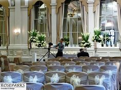 Beautiful ceremony setup in the King's Hall - George Hotel